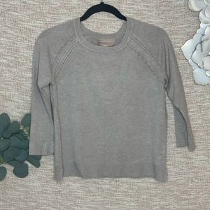 [Philosophy] 3/4 Taupe Sweater